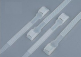 Double loccking cable ties