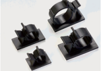 Self-adhesive Adjustable Cable Clamp