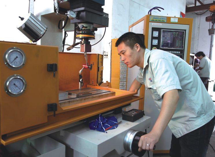 staffs in manufacture